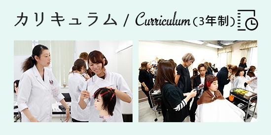 カリキュラム美容科3年コース